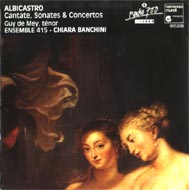 cover of Albicastro's cd - 16 Kb