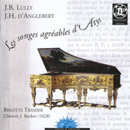 cover of cd d'Anglebert Folies d'Espagne by Tramier (harpsichord)