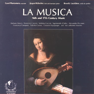 cover of LP La Musica 16th and 17th Century Music  15 kB