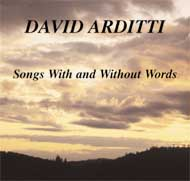 cover of David Arditti, cd - 15 Kb