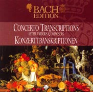 cover of Pieter Dirksen's Bach Concerto transcriptions  cd - 23kB