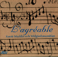 cover of L'Agreable cd - 32Kb