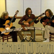 trio playing Folia y Milonga to the left Elizabeth C.D. Brown - 15 Kb