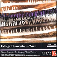 cover of Blumental and Prague Symphony Orchestra cd - 15Kb