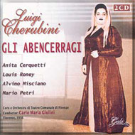 cover of cd Gli Abencerragi 15kB