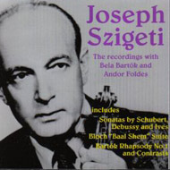 cover lp Szigeti and Klemperer 15 Kb