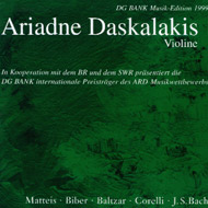 cover of cd Daskalakis Tudor Recording 15 Kb