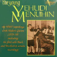 cover of cd Menuhin 15 Kb
