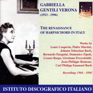 cover of cd Gentili Verona 15kB