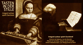 cover of cd Irmgard Lechner - 28kB