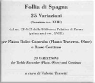 cover of sheet music 25 variazioni - 15 kB