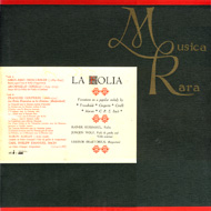 cover LP La Folia by Musica Rara - 15kB