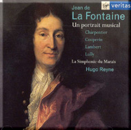 cover of Jean de La Fontaine, A musical portrait cd - 15kB
