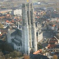 cover cathedral of the city of Mechelen 13kB