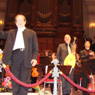 cover performance in the Concertgebouw October 20, 2013 - 13kB