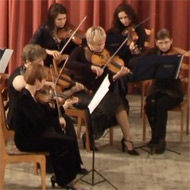Smolensk Chamber Orchestra playing Suite para cuerdas Op. 37