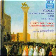 cover of Hogwood L'arte dell'arco cd - 20kB