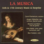 cover of cd Musica 16th and 17th Century Music  15 kB