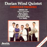 cover cd Dorian Wind Quintet - 19kB