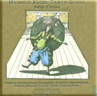 cover cd Mauricio Kagel - 15kB