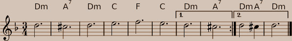 the theme of La Folia hidden in the music of Kodály - 18kB