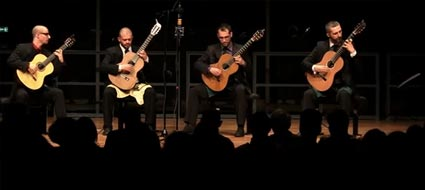 concert The Helios Guitar Quartet 23kB