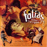 cover of cd Folia, Folies Baroques - 15kB