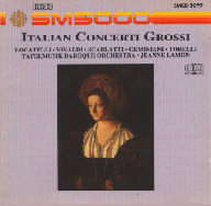 cover of Italian Concertti Grossi cd - 18Kb