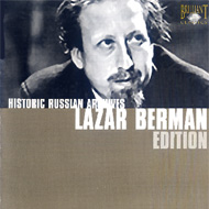 cover 7 cd-set Brilliant Historic Russian Archives, Lazar Berman 15kB