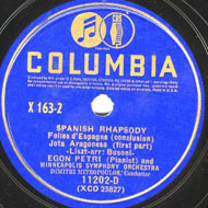 cover of 78 RPM Petri - 15Kb
