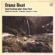cover LP Berman, Melodia-label, Franz Liszt 17kB