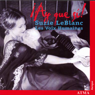 cover of cd Suzie LeBlanc - 15 kB