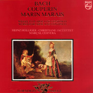 cover lp Bach, Couperin, Marin Marais - 15kB