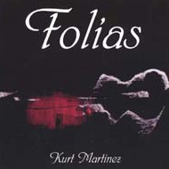 cover of cd Folías, Kurt Martinez 15kB