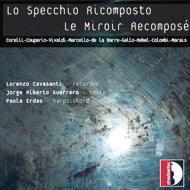 cover of cd Lo Specchio Ricomposto, Cavasanti Guerrero and Erdas - 15kB