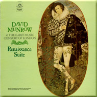 cover of LP Renaissance Suite Angel-release - 15 Kb