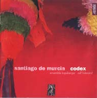 cover CD Santiago de Murcia Ensemble Kapsberger and Lislevand - 06kB