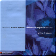cover of cd d'Anglebert Nyquist - 15 Kb