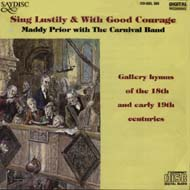cover of Maddy Prior with the Carnival Band cd 17kB