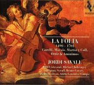 cover Savall, La Folia - 15kB