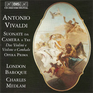 cover of compact disc London Baroque BIS-label -15 Kb