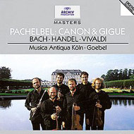 cover of cd Musica Antiqua Köln/Goebel, Reinhard 'Pachelbel: Kanon & Gigue  15Kb