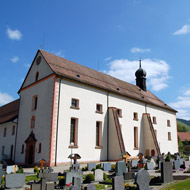 The church of Oberried for the concert 15Kb