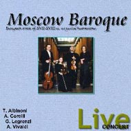 cover of Moscow Baroque cd - 17kB