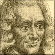 portrait of Voltaire 15kB